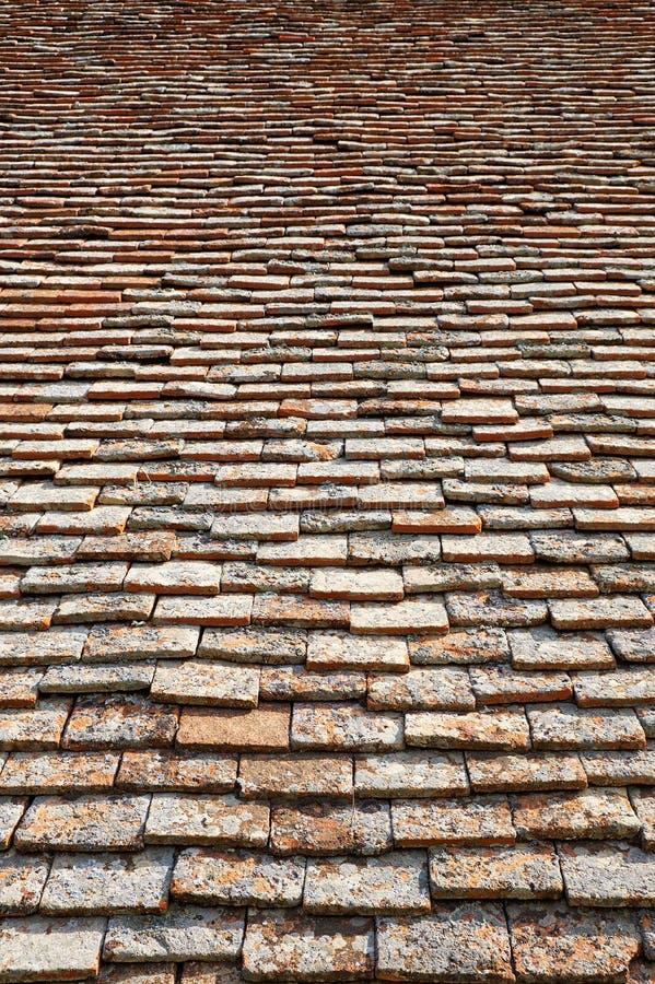 Struttura delle mattonelle di terracota fotografie stock