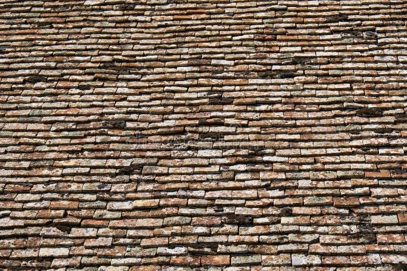 Struttura delle mattonelle di terracota fotografia stock