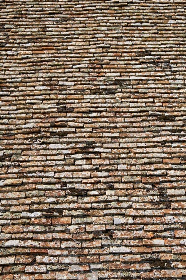 Struttura delle mattonelle di terracota fotografie stock libere da diritti
