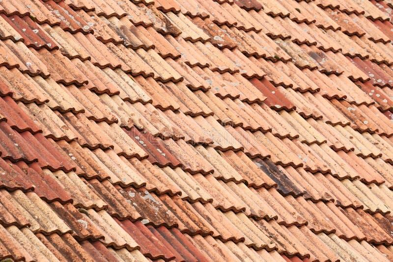 Struttura delle mattonelle di tetto fotografie stock