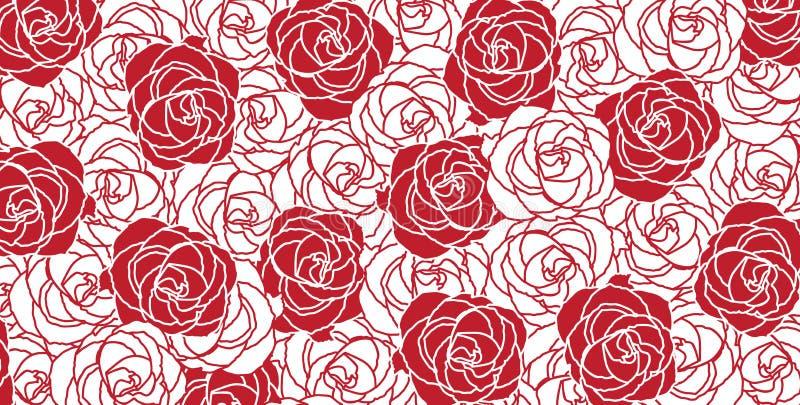 Struttura delle rose illustrazione di stock
