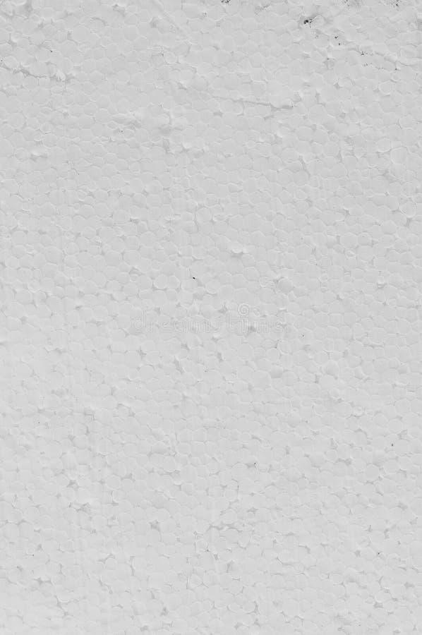Struttura dello strato bianco del polistirene espanso di polistirene espanso fotografia stock libera da diritti