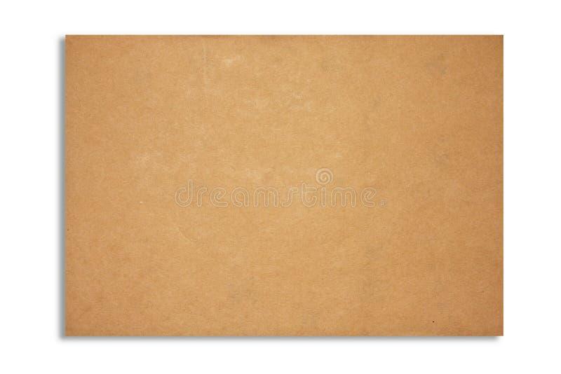 Struttura dello strato del documento di Brown immagini stock libere da diritti