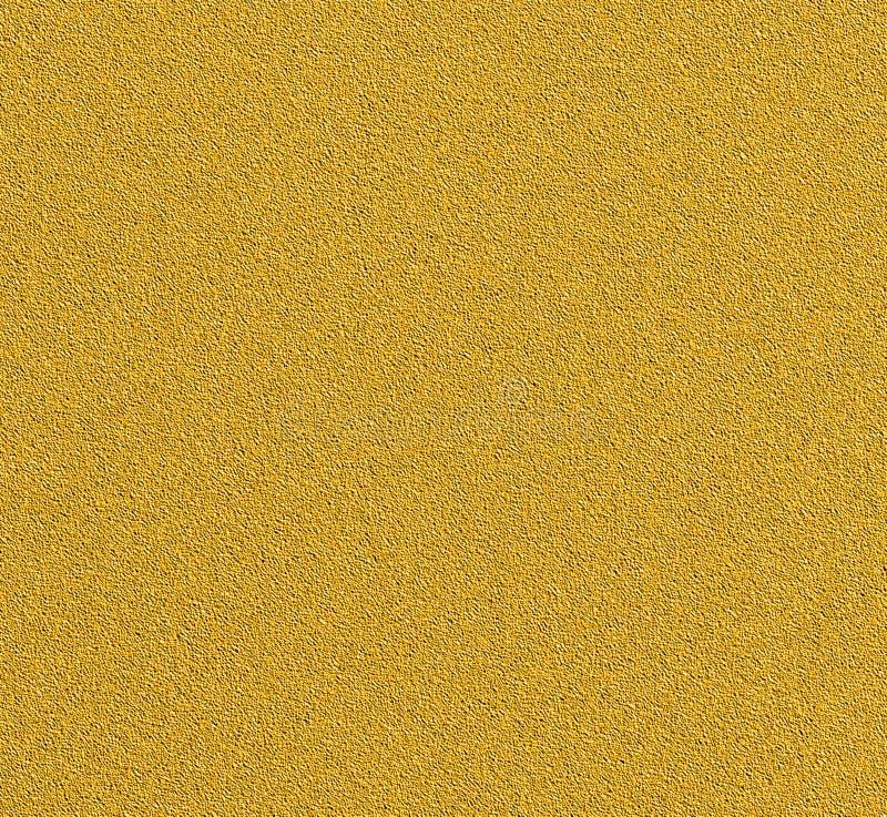 Struttura dello stucco della pittura di Digital con il fondo di colore dell'oro immagine stock libera da diritti