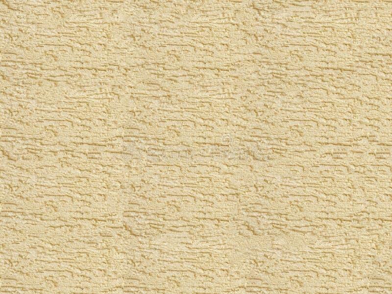 Struttura dello stucco Fondo beige di struttura della parete Gesso decorativo beige, struttura senza cuciture Riparazione, concet immagini stock libere da diritti