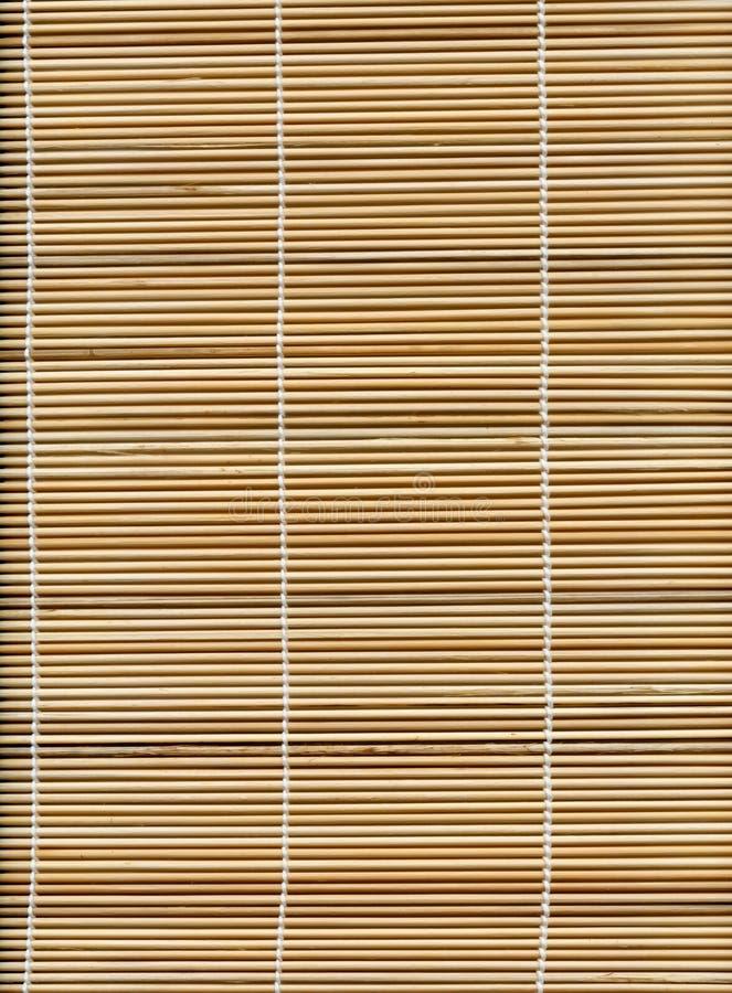 Struttura di bambù della stuoia della paglia del bastone fotografie stock libere da diritti