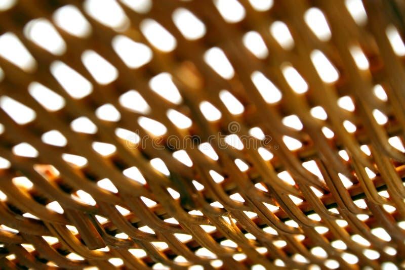 Struttura di bambù, profondità del campo estrema fotografia stock