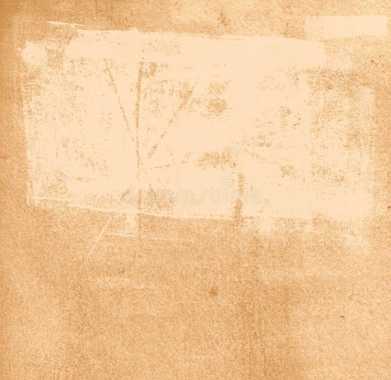 Struttura di carta con i segni della pittura fotografie stock