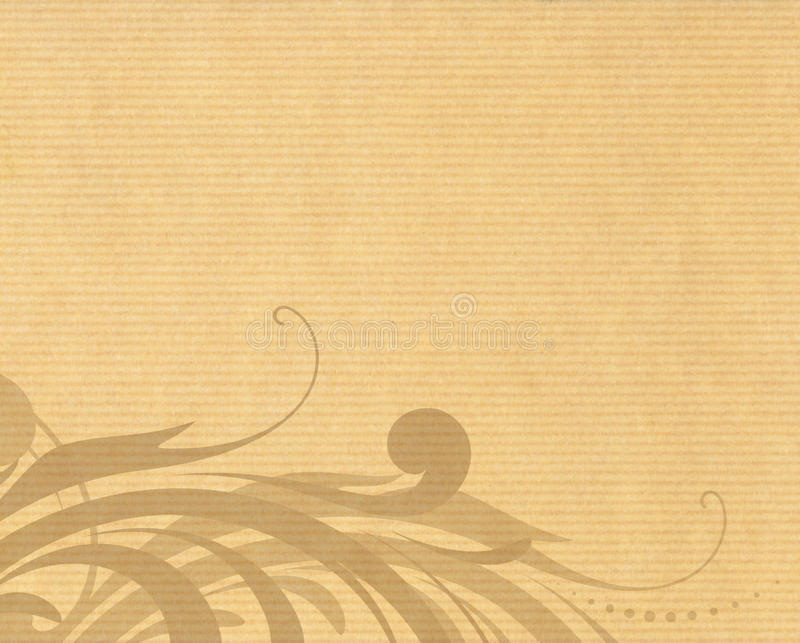 Struttura di carta con il disegno floreale royalty illustrazione gratis