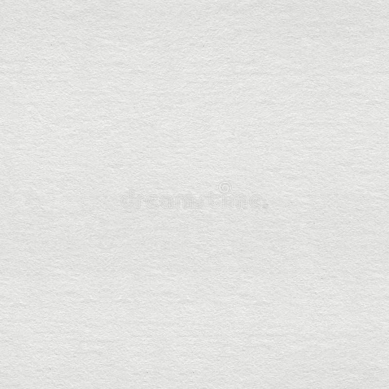 Struttura di carta fatta a mano bianca, macro foto Sedere quadrate senza cuciture immagine stock libera da diritti
