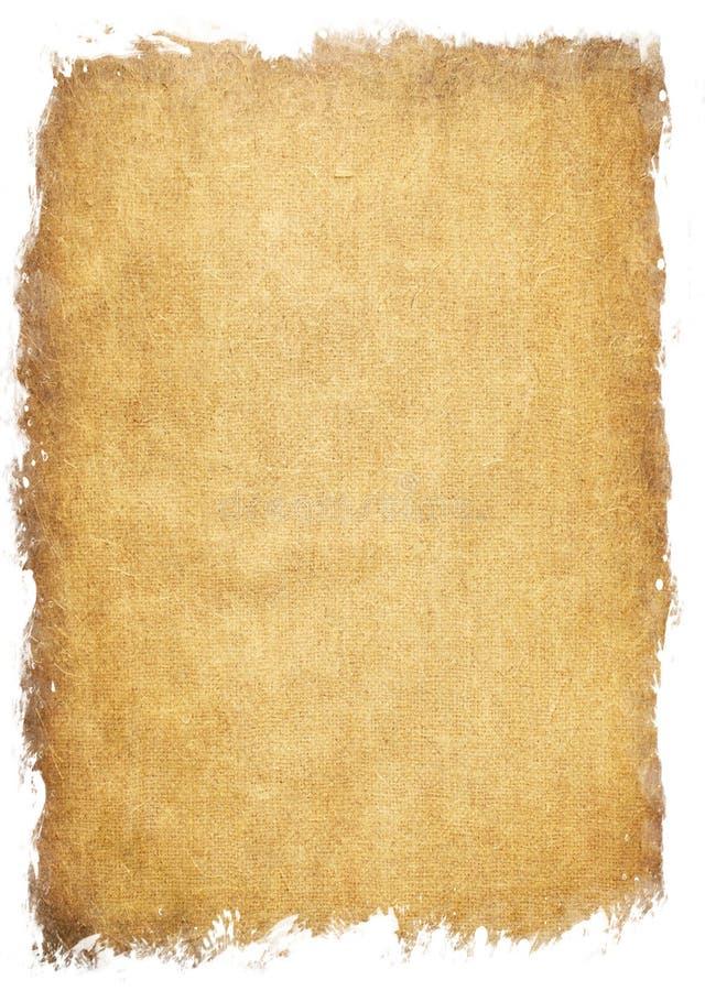 Struttura di carta invecchiata illustrazione di stock