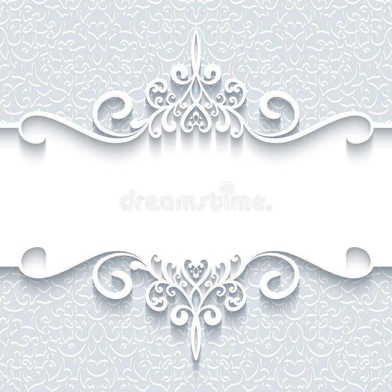 Struttura di carta ornamentale royalty illustrazione gratis