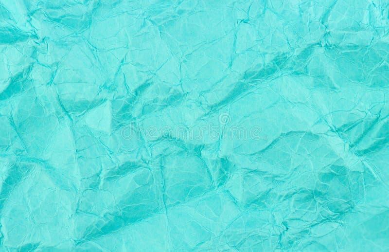 Struttura di carta riciclata del fondo sbriciolata alzavola blu fotografia stock