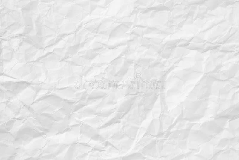 Struttura di carta sgualcita immagini stock libere da diritti