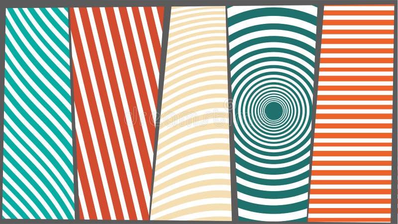 Struttura di colore del fondo con le linee fotografia stock