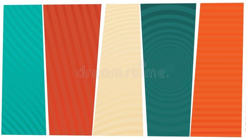 Struttura di colore del fondo con le linee fotografie stock libere da diritti