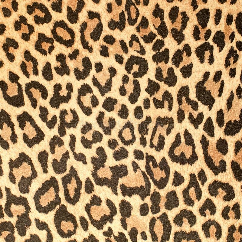 Struttura di cuoio del reticolo del leopardo immagini stock