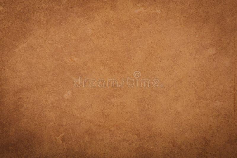 struttura di cuoio marrone & x28; possa usato come background& x29; fotografia stock