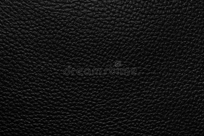 Struttura di cuoio nera fotografia stock libera da diritti