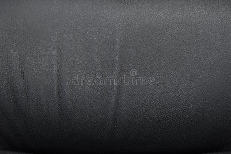 Struttura di cuoio nera fotografie stock libere da diritti