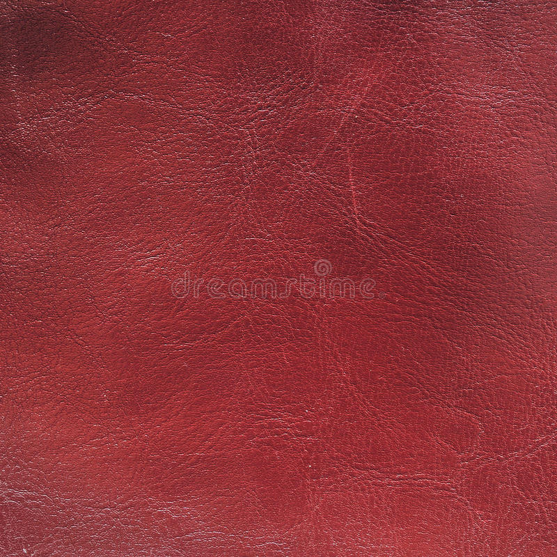 Struttura di cuoio rossa immagini stock