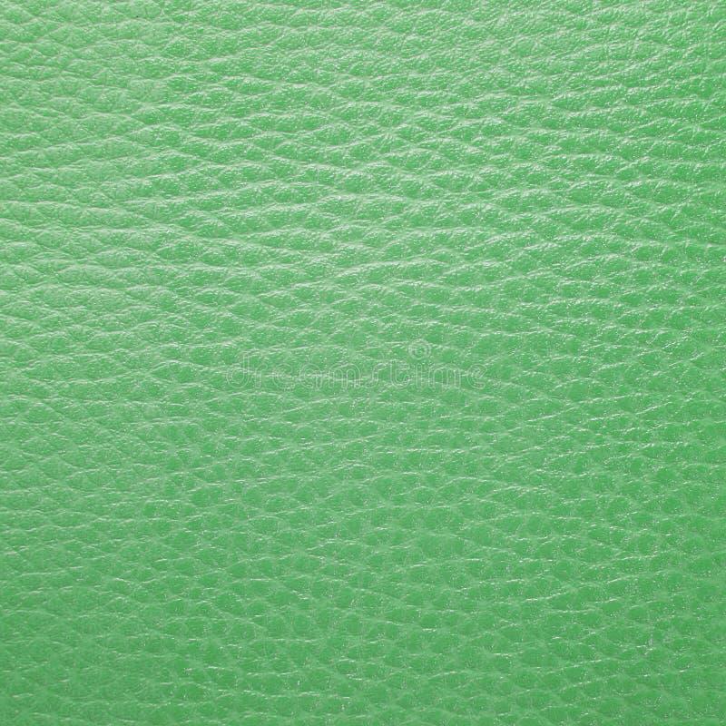 Struttura di cuoio verde immagini stock libere da diritti