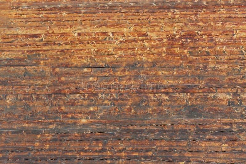 Struttura di e parete di legno invecchiata del chalet svizzero tipico in Zermatt, Svizzera fotografia stock libera da diritti