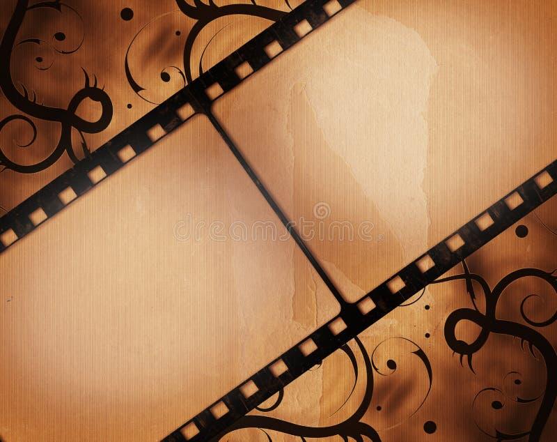 Struttura di film di lerciume royalty illustrazione gratis