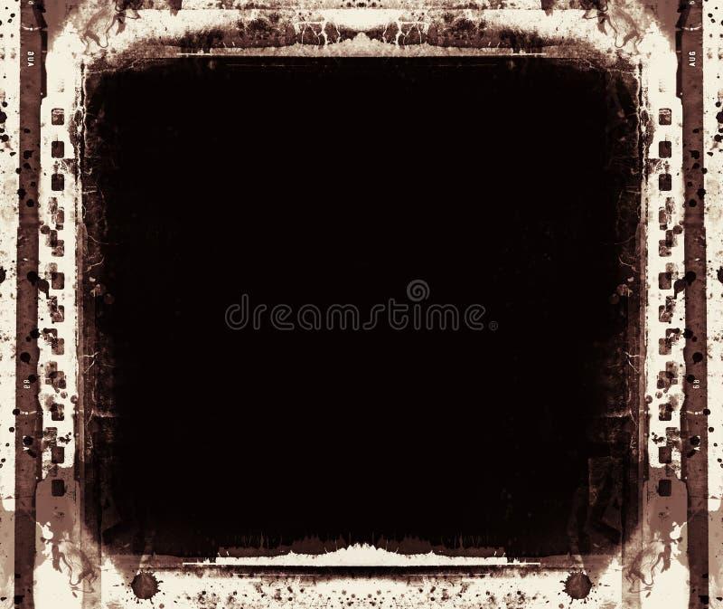 Struttura di film di lerciume con spazio per testo o l'immagine royalty illustrazione gratis