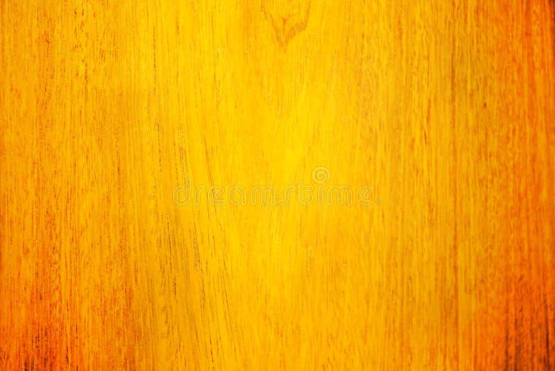 Struttura di fondo di legno con il modello naturale nel giallo ed o fotografia stock
