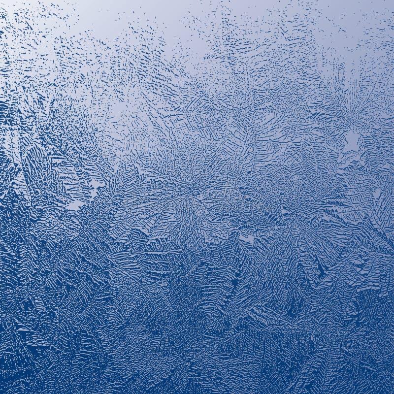 Struttura di gelo illustrazione vettoriale