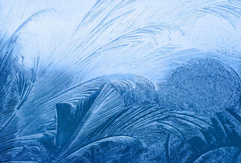 Struttura di gelo immagini stock libere da diritti