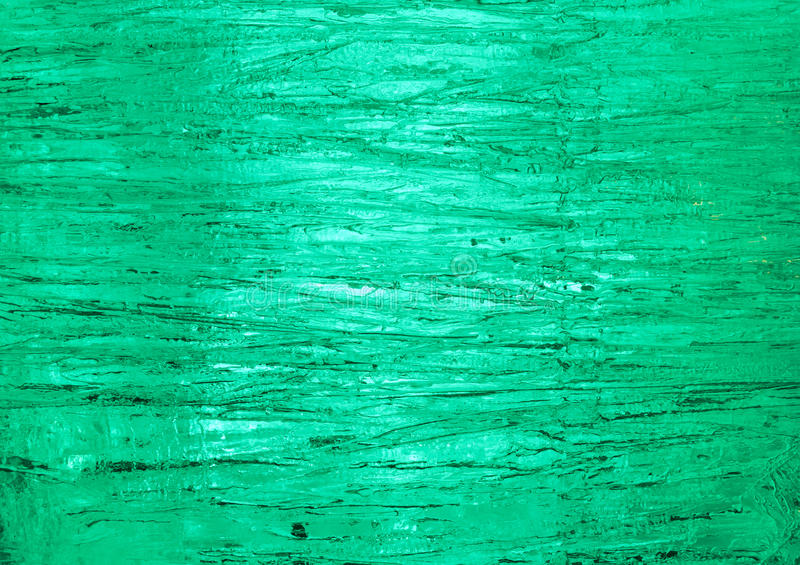 Struttura di ghiaccio con l'indicatore luminoso della parte posteriore di verde. immagine stock