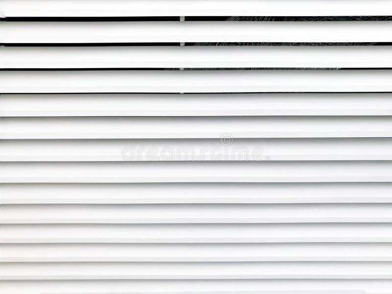 Struttura di griglia di ventilazione dell'aria del metallo bianco fotografia stock