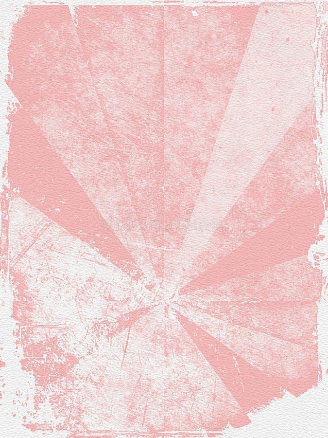 Struttura di Grunge su documento illustrazione di stock