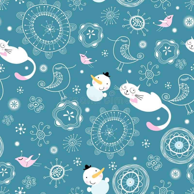 Struttura di inverno royalty illustrazione gratis