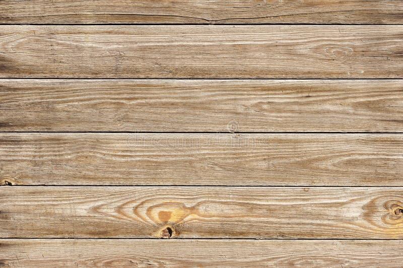 Struttura di legno astratta della parete di Brown fotografia stock