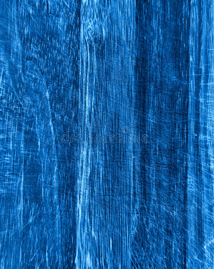 Struttura di legno blu fotografie stock libere da diritti