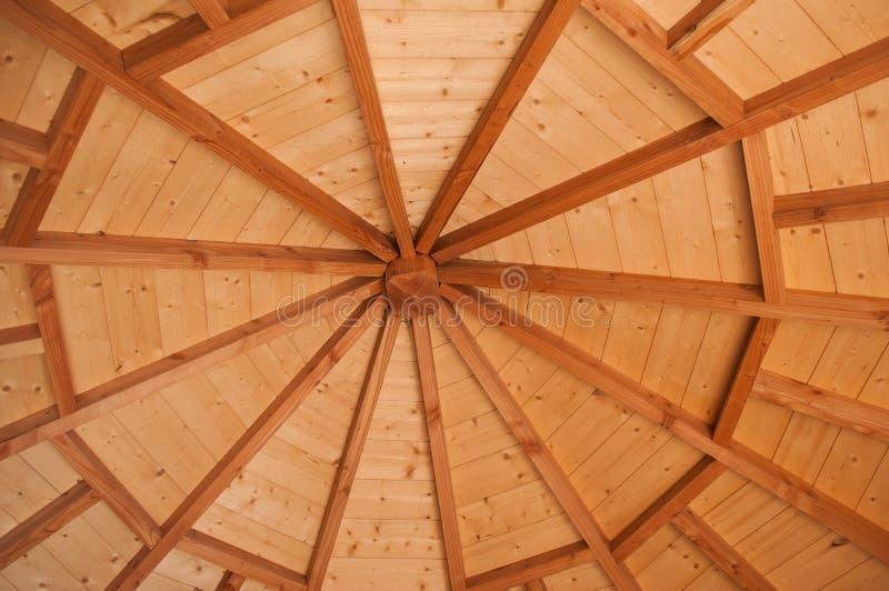 struttura di legno in capanna tradizionale fotografia stock libera da diritti
