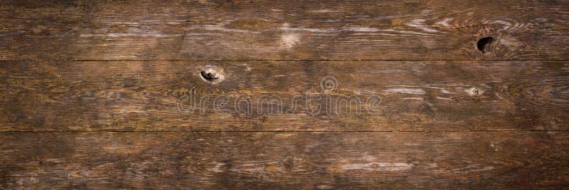 Struttura di legno di colore marrone scuro fotografie stock