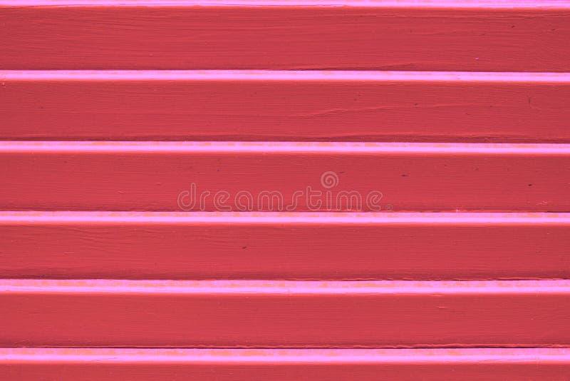 Struttura di legno di corallo del pannello di colore fucsia posto per la vostra progettazione Copi lo spazio fotografia stock libera da diritti