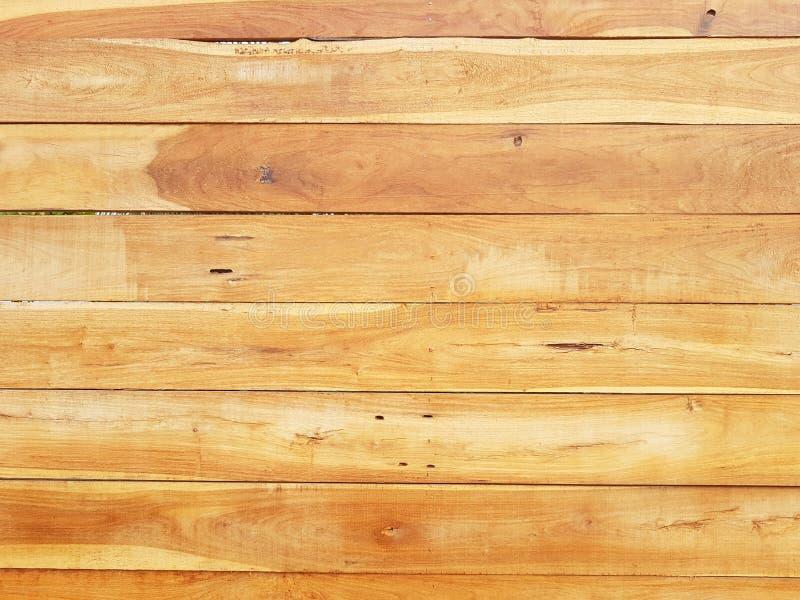 Struttura di legno del fondo di Brown con le linee orizzontali fotografie stock libere da diritti