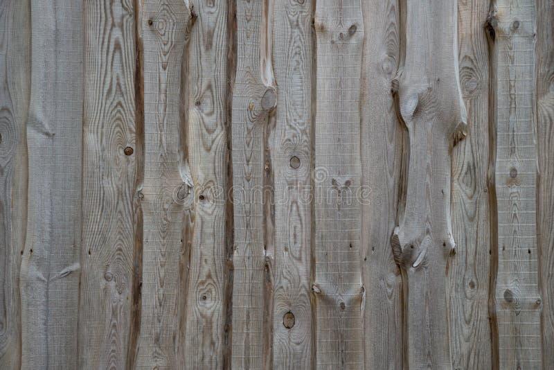 Struttura di legno del frammento della facciata della parete fotografia stock