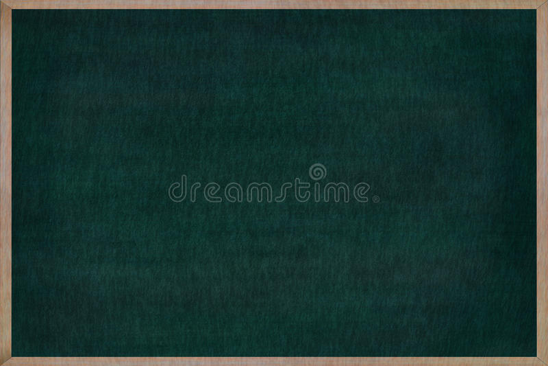 Struttura di legno della lavagna con la superficie di verde royalty illustrazione gratis