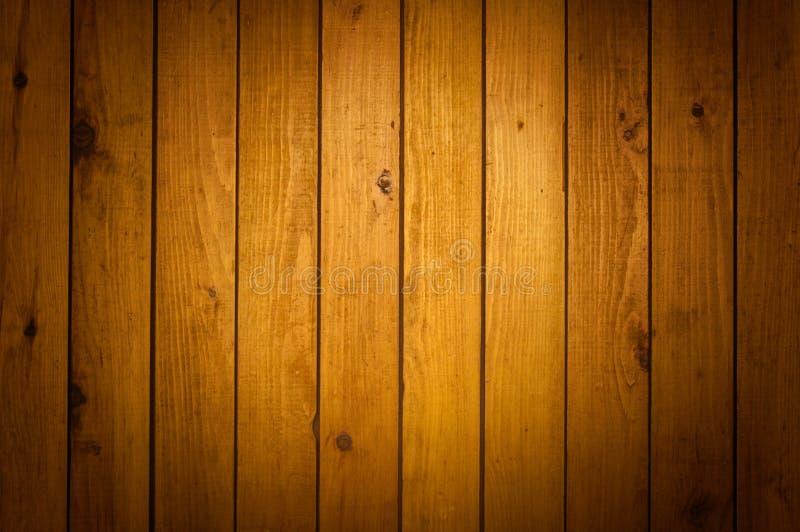 Struttura di legno della parete del Brown immagini stock