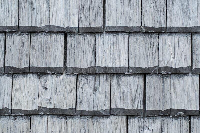 Struttura di legno delle mattonelle di tetto immagine stock libera da diritti