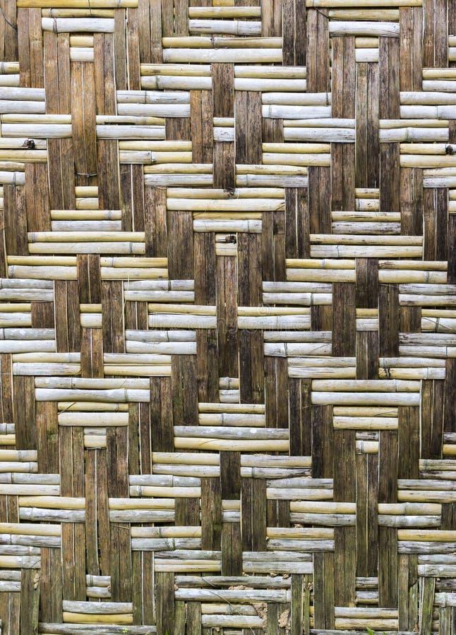 Struttura di legno di bambù fotografie stock libere da diritti