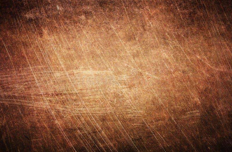 Struttura di legno di superficie graffiata annata fotografie stock libere da diritti