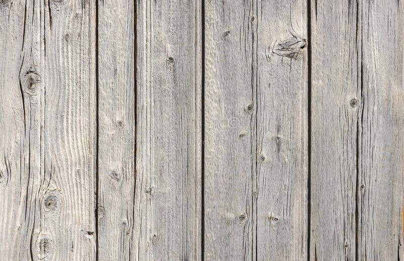 Struttura di legno grigia d'annata del fondo della parete fotografie stock