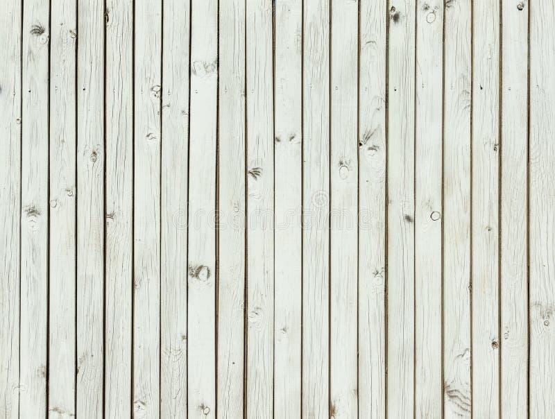 Struttura di legno grigio chiaro, plance grige dipinte fotografie stock libere da diritti
